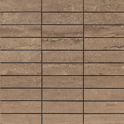 MS International Pietra Mosaic 1 x 4 Dunes