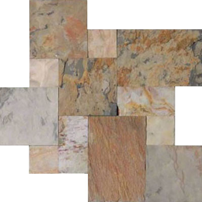 MS International Slate and Quartzite Versailles Autumn