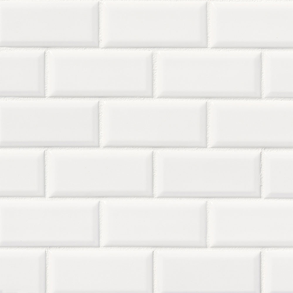 MS International Subway Tile Mosaic 2 x 4 Frost