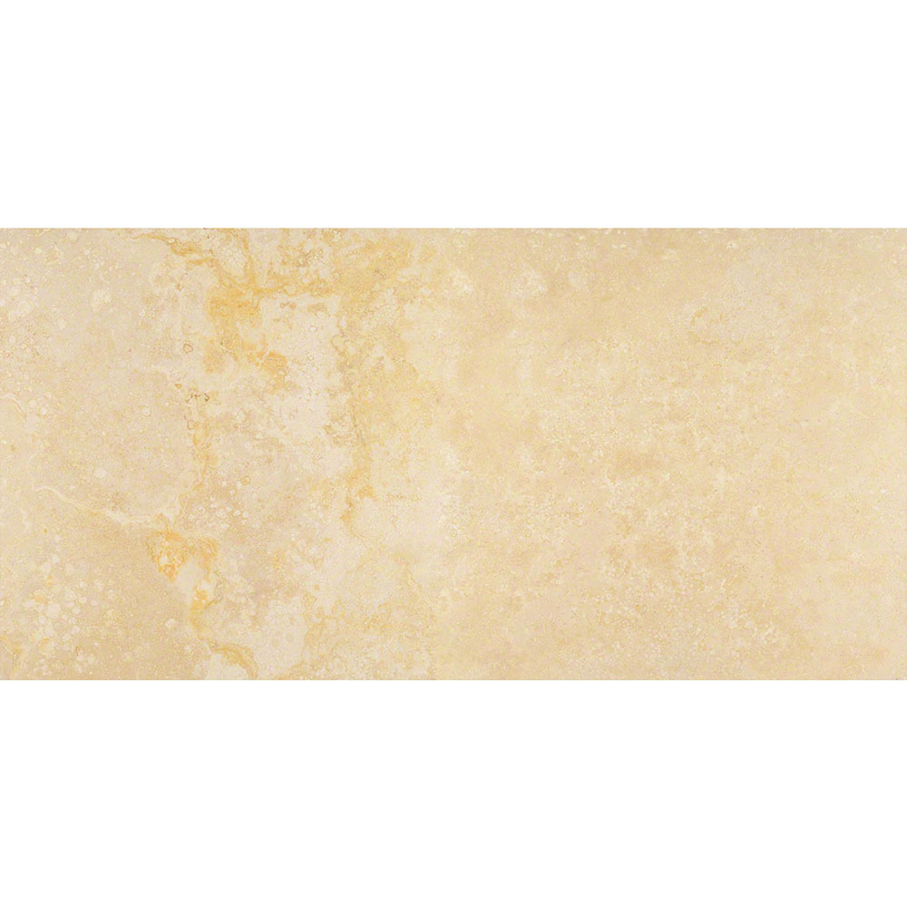 MS International Travertine 12 x 24 Honed Filled Angelica Gold