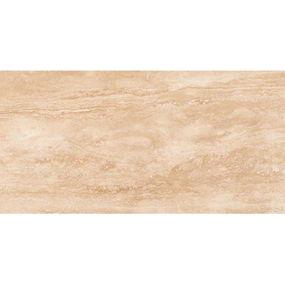MS International Travertine 12 x 24 Honed Filled Tuscany Ivory Vein Cut