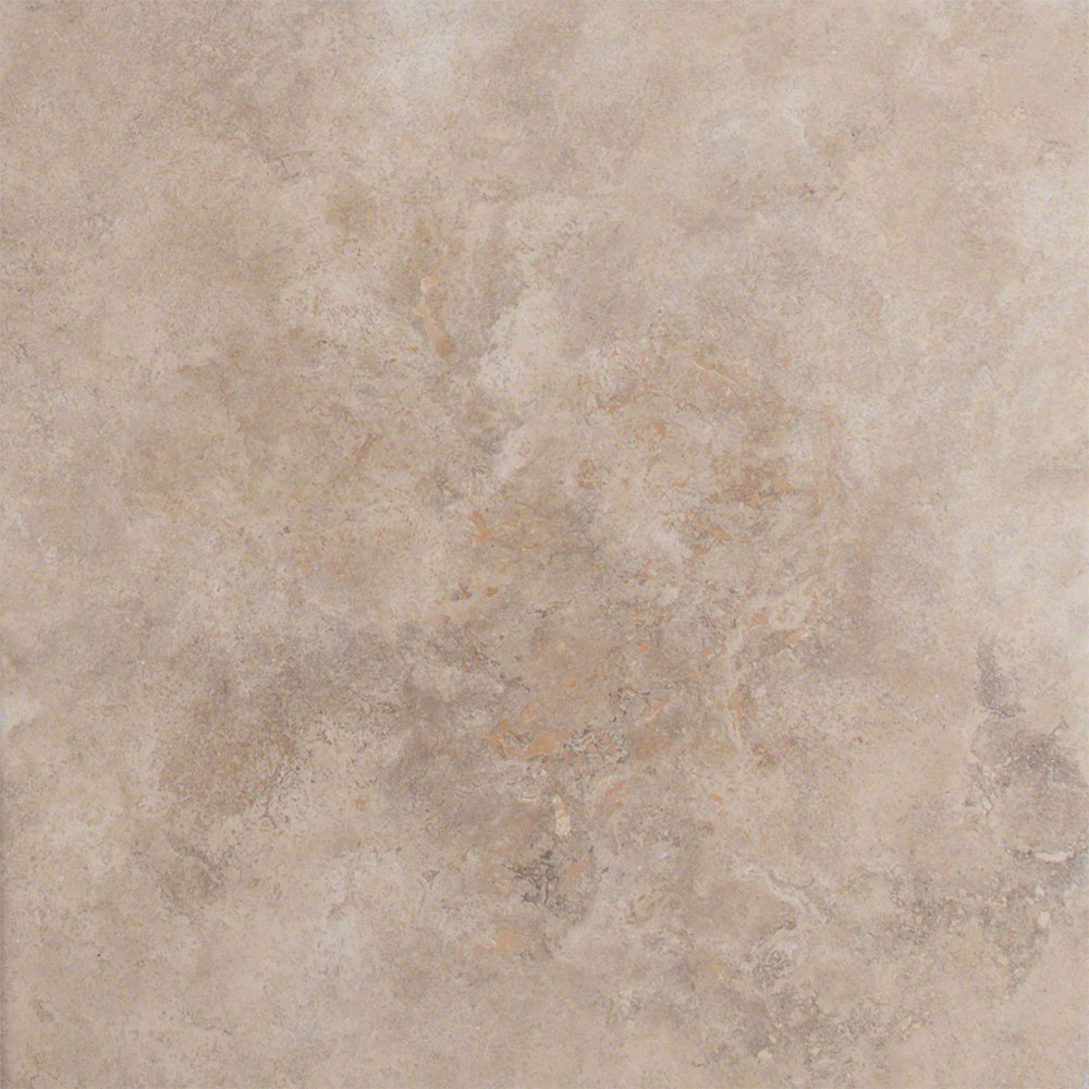 MS International Travertine 16 x 16 Honed Unfilled Chiseled Tuscany Walnut