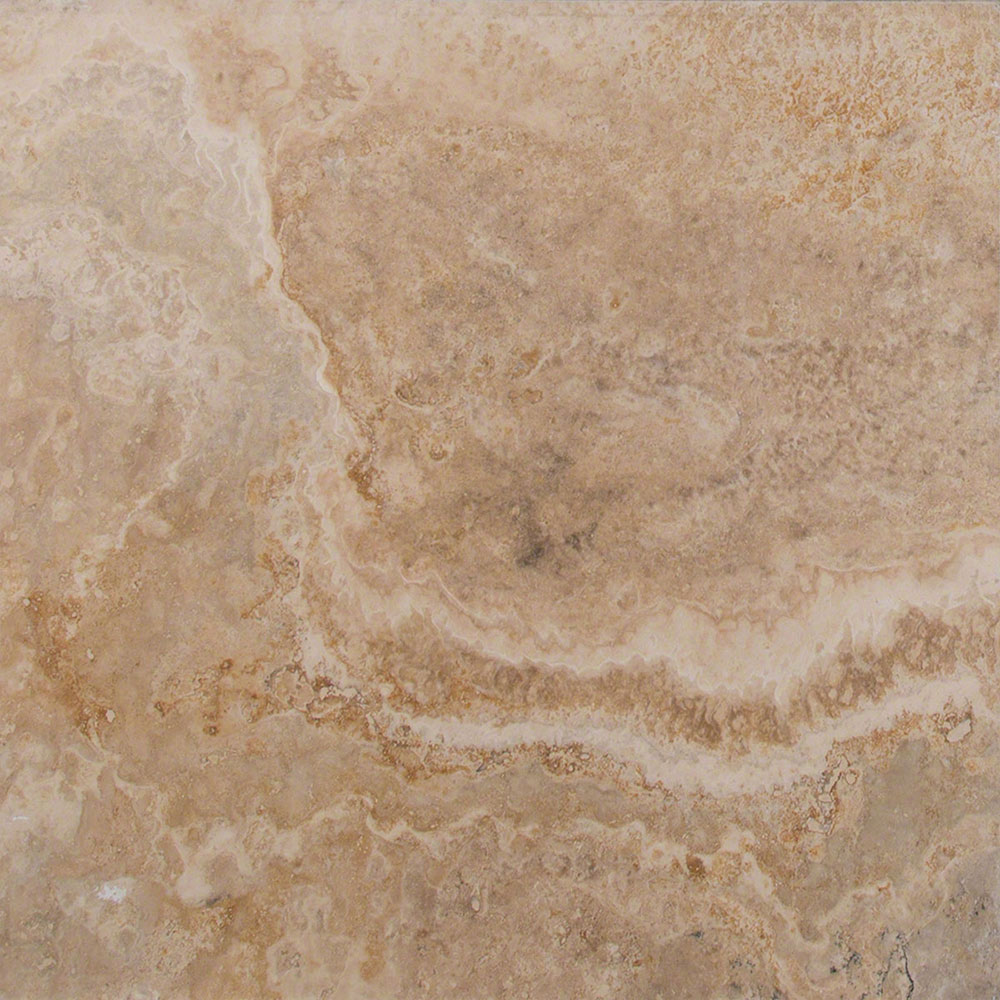 MS International Travertine 18 x 18 Honed Filled Inca Blend