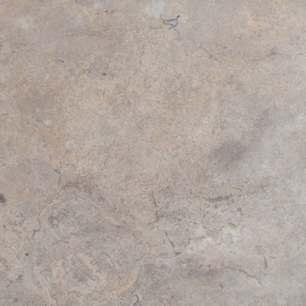 MS International Travertine 18 x 18 Honed Filled Silver Travertine