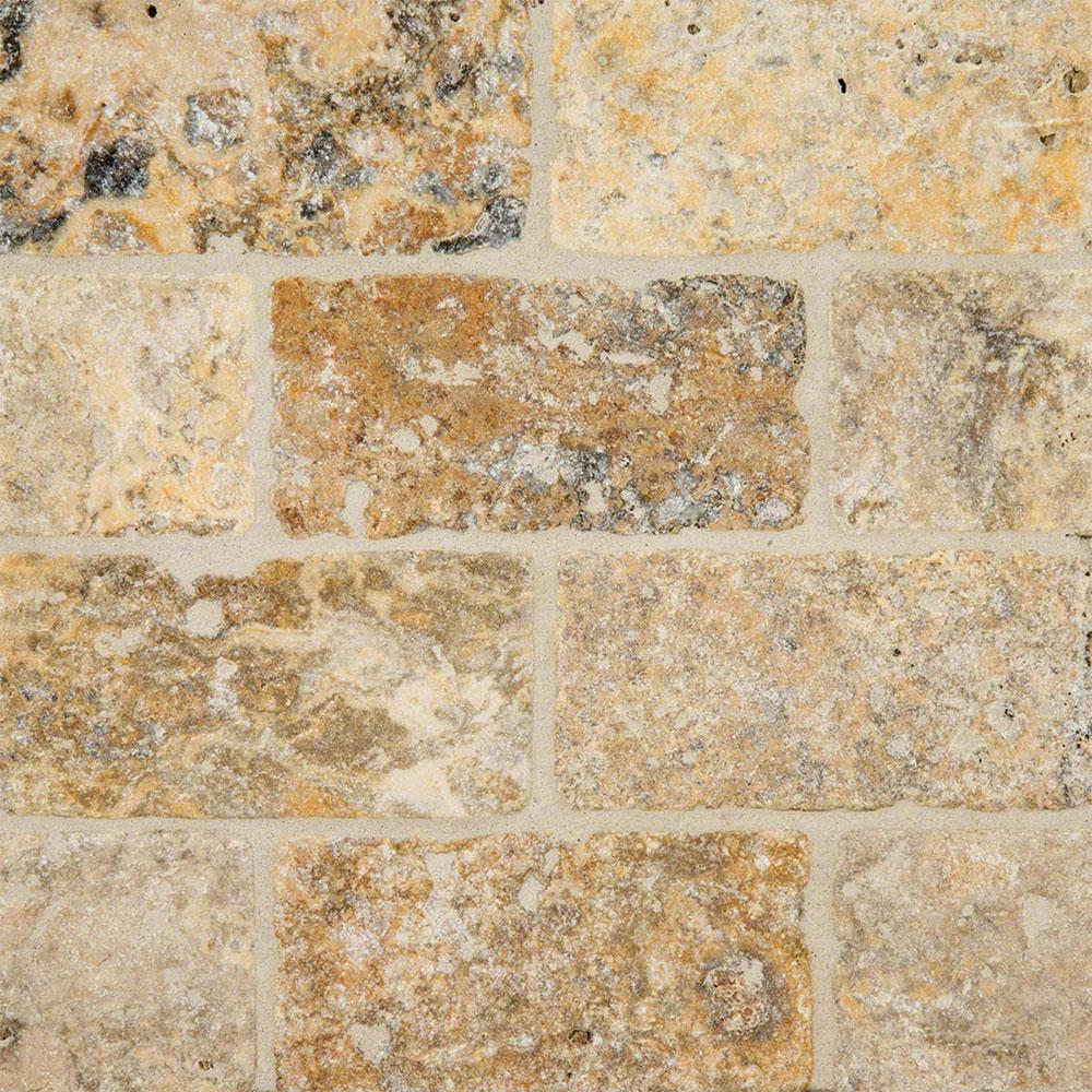 Ms International Travertine 3 X 6 Tumbled Tile Amp Stone Colors