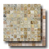 Travertine Mosaic 1 x 1