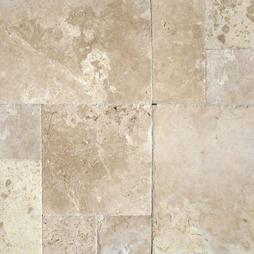 MS International Travertine Versailles Honed Unfilled Chiseled Tuscany Storm
