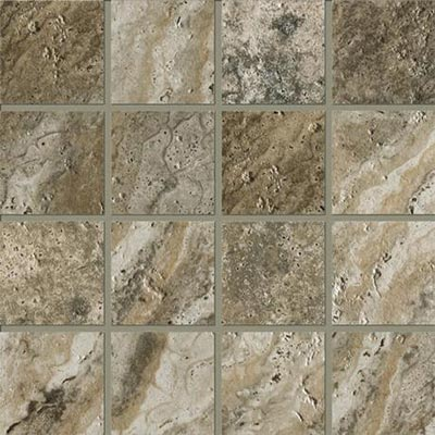 Marazzi Archaeology Mosaic 3x3 Square Crystal River