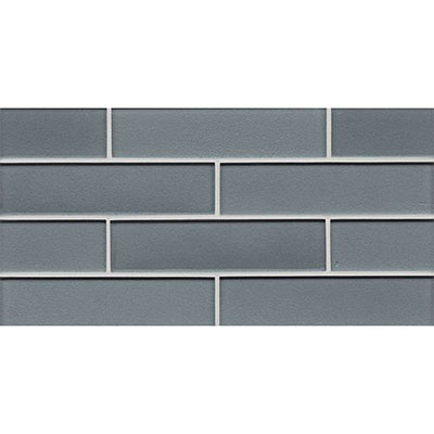 Bedrosians Manhattan Glass Mosaic 2 x 8 Gloss Subway