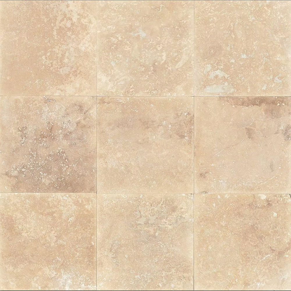 Tilecrest travertine stone 18 x 18 tile stone colors tilecrest travertine stone 18 x 18 mediterranean beige classic honed dailygadgetfo Gallery