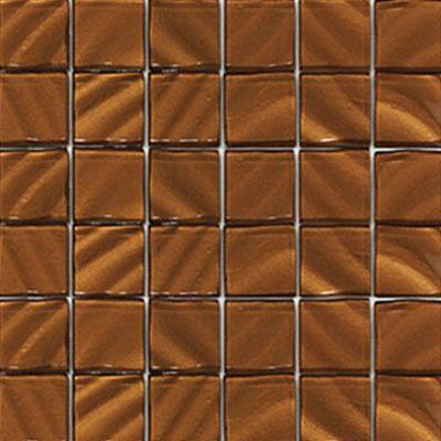Vetromani Valverde 2 X 2 3d Glass Mosaic Copper