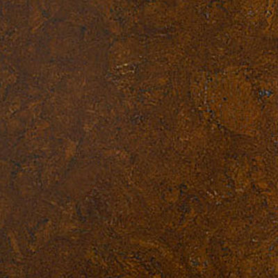 Globus Cork Glue Down Tiles Nugget Texture 18 x 18 Brown Mahogany