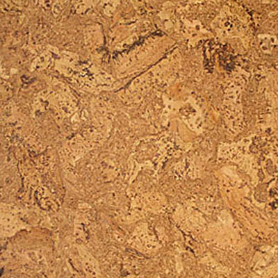 Globus Cork Glue Down Tiles Nugget Texture 18 x 18 Natural