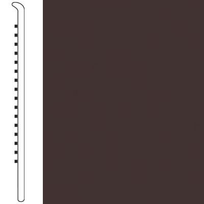 Armstrong Wallbase Straight 2 1/2 Black Brown