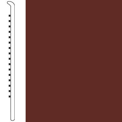 Armstrong Wallbase Straight 2 1/2 Cabernet