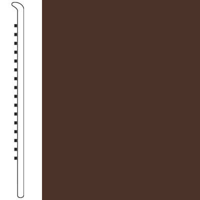 Armstrong Wallbase Straight 2 1/2 Cocoa