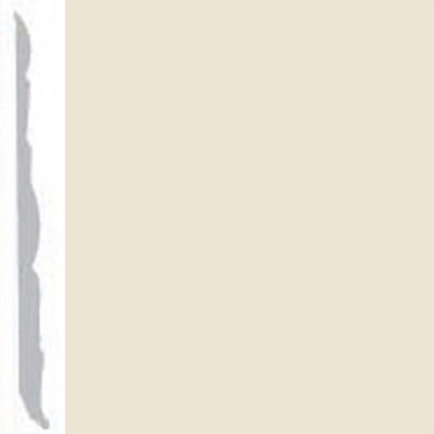 Burke Profiles Designer Rubber Wall Base Type TP Colonial 4 1/4 Almond