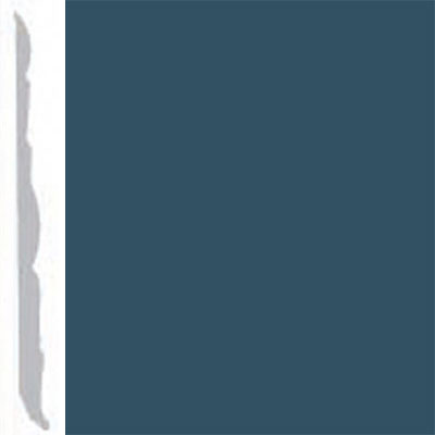Burke Profiles Designer Rubber Wall Base Type TP Colonial 4 1/4 Blue Bonnet