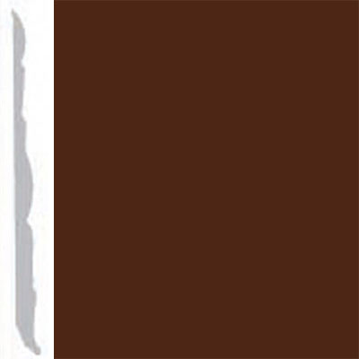 Burke Profiles Designer Rubber Wall Base Type TP Colonial 4 1/4 Brown