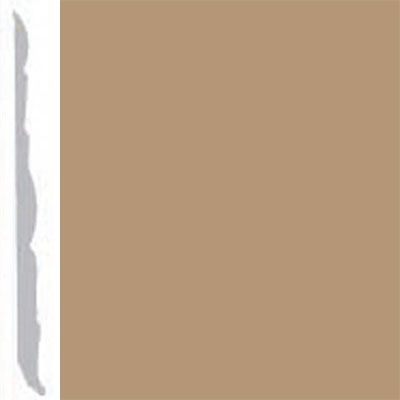 Burke Profiles Designer Rubber Wall Base Type TP Colonial 4 1/4 Clay