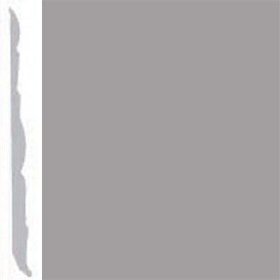 Burke Profiles Designer Rubber Wall Base Type TP Colonial 4 1/4 Gray