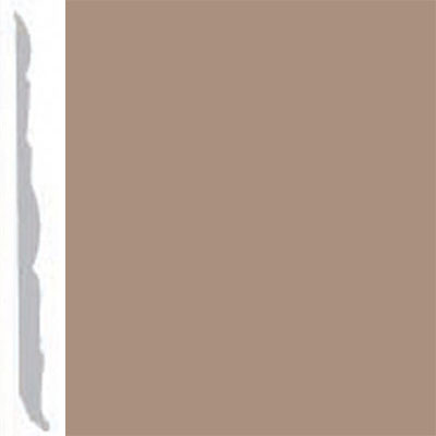Burke Profiles Designer Rubber Wall Base Type TP Colonial 4 1/4 Light Beige