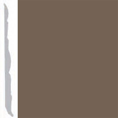 Burke Profiles Designer Rubber Wall Base Type TP Colonial 4 1/4 Mocha