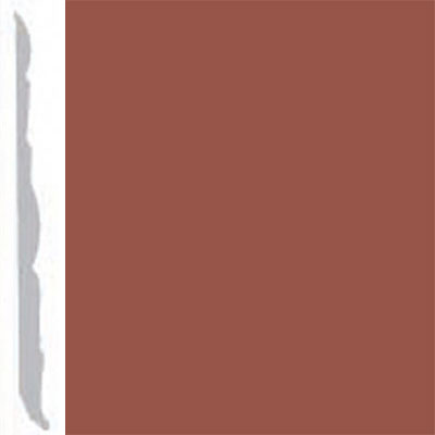 Burke Profiles Designer Rubber Wall Base Type TP Colonial 4 1/4 Nutmeg