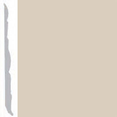 Burke Profiles Designer Rubber Wall Base Type TP Colonial 4 1/4 Off White