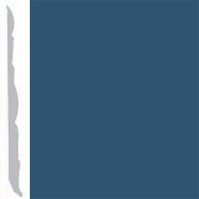 Burke Profiles Designer Rubber Wall Base Type TP Colonial 4 1/4 True Blue