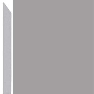Burke Profiles Designer Rubber Wall Base Type TP Elusive 3 Gray
