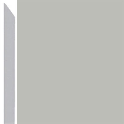 Burke Profiles Designer Rubber Wall Base Type TP Elusive 3 Light Gray