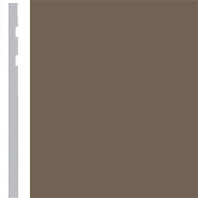 Burke Profiles Designer Rubber Wall Base Type TP Revelation 4 1/4 Mocha