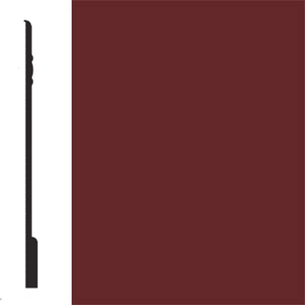Flexco Base Sculpture Wall Base Noble Burnt Sienna