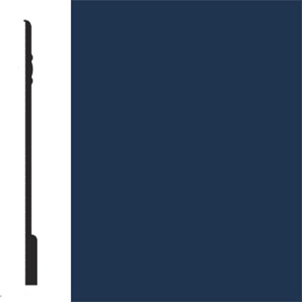 Flexco Base Sculpture Wall Base Noble Midnight Blue