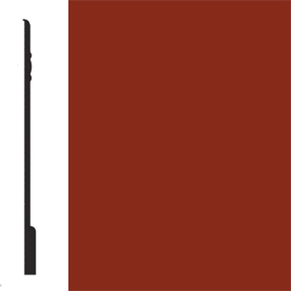 Flexco Base Sculpture Wall Base Noble Red Rock