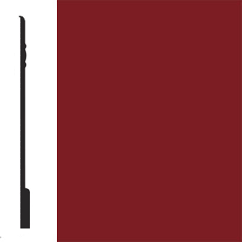 Flexco Base Sculpture Wall Base Noble Sierra Red