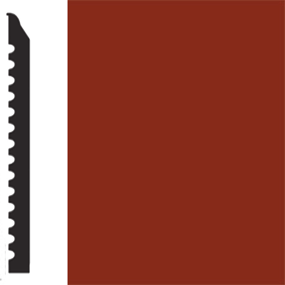 Flexco Base Sculpture Wall Base Regal Red Rock