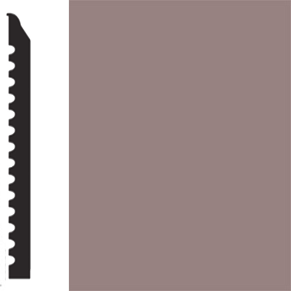 Flexco Base Sculpture Wall Base Regal Taupe