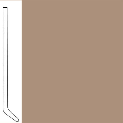 Flexco Wallflowers Wall Base 4-1/2 Cove Cappucino