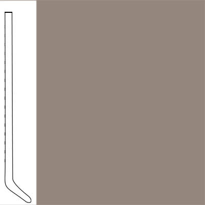 Flexco Wallflowers Wall Base 4-1/2 Cove Dark Beige