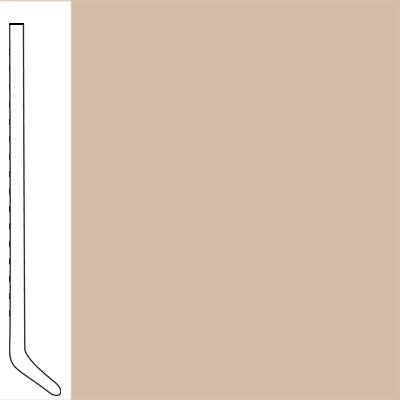Flexco Wallflowers Wall Base 4-1/2 Cove Dune