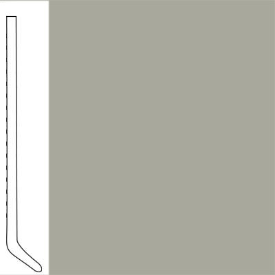 Flexco Wallflowers Wall Base 4-1/2 Cove Light Gray