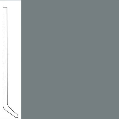 Flexco Wallflowers Wall Base 4-1/2 Cove Medium Gray