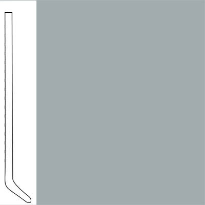 Flexco Wallflowers Wall Base 4-1/2 Cove Nickel