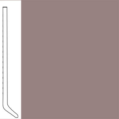 Flexco Wallflowers Wall Base 4-1/2 Cove Taupe
