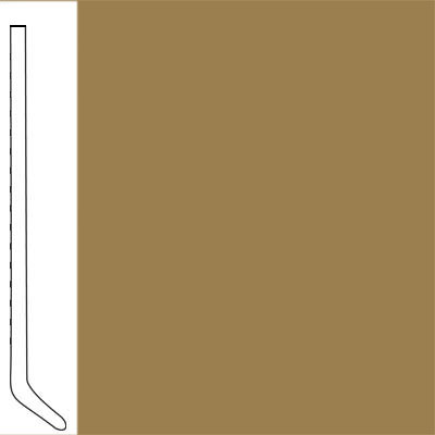 Flexco Wallflowers Wall Base 4-1/2 Cove Wheat