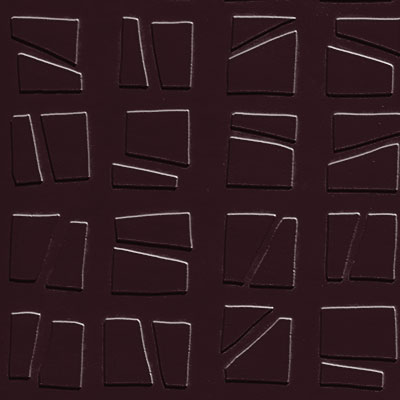 Johnsonite Solid Colors Artistic Square Surface 24 x 24 .125 Burgundy
