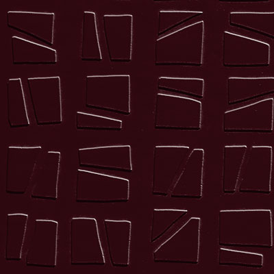 Johnsonite Solid Colors Artistic Square Surface 24 x 24 .125 Cabernet