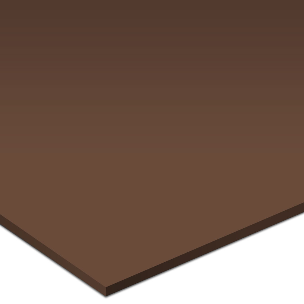Johnsonite Solid Colors Smooth Surface 24 x 24 Milk Chocolate